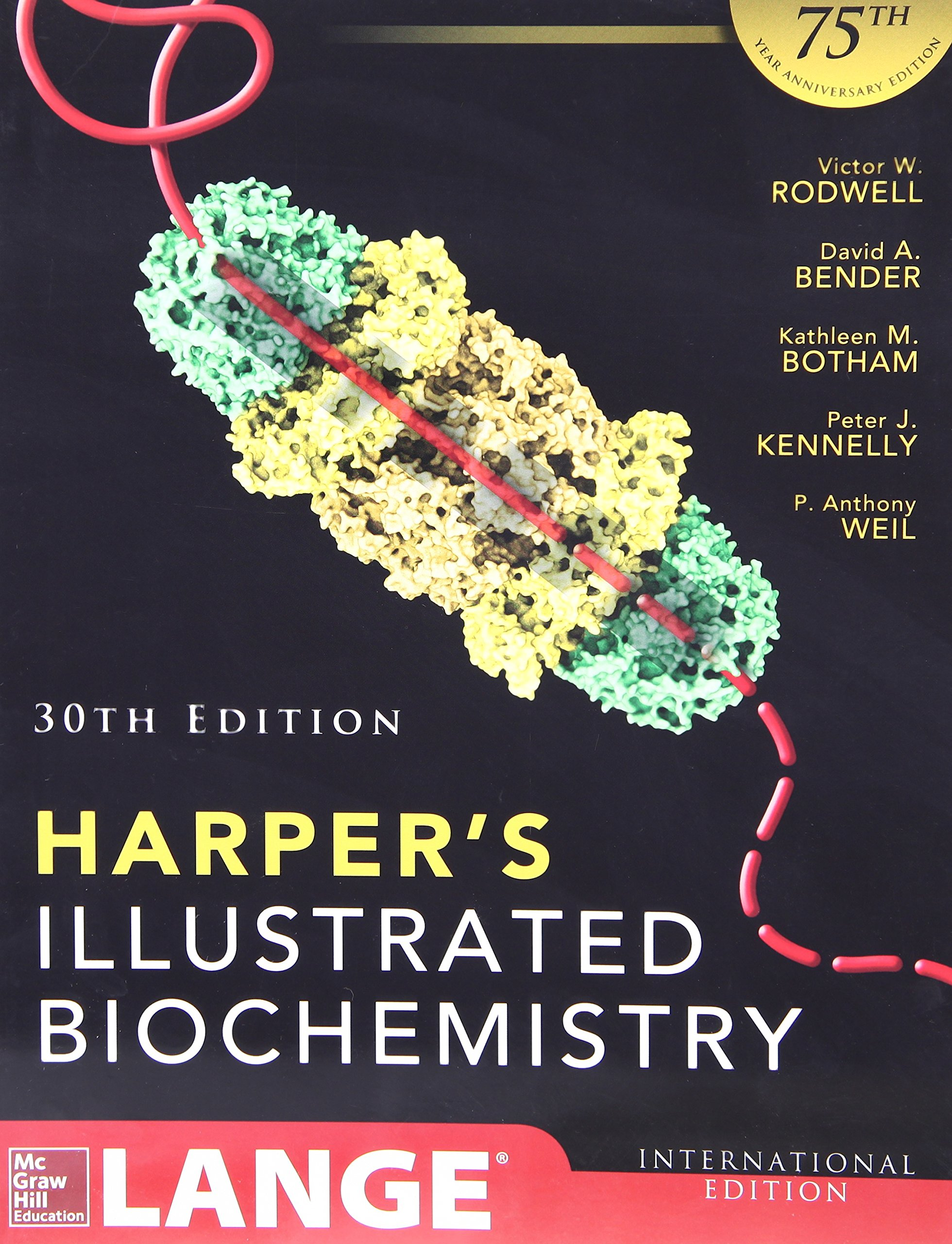 HARPERS ILLUSTRATED BIOCHEMISTRY 30th Ed